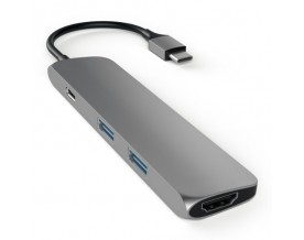 Satechi USB-C Multiport adapter 4K HDMI Space Gray
