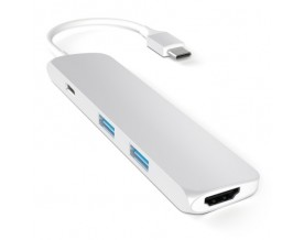 Satechi USB-C Multiport adapter 4K HDMI Silver